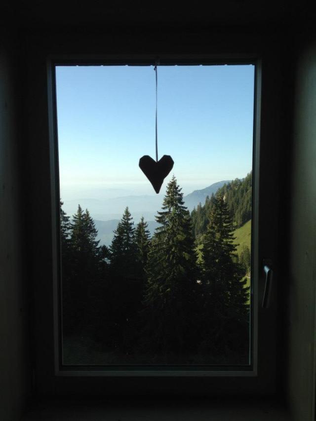 Das Fenster zum Glück