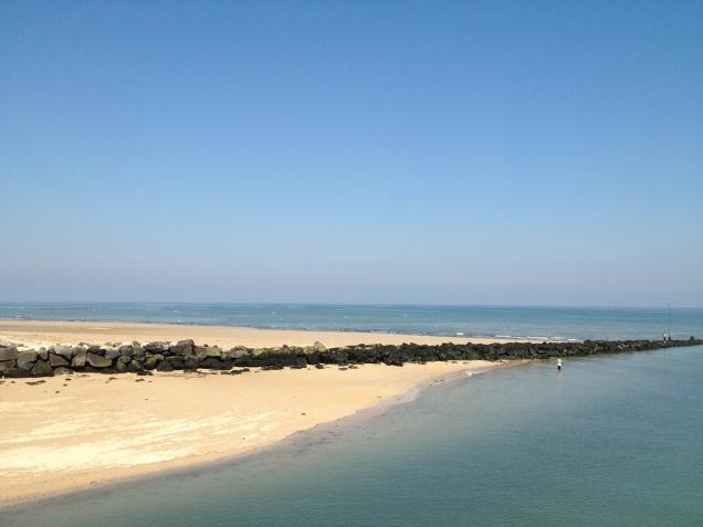 Juno Beach mit Trauerflor